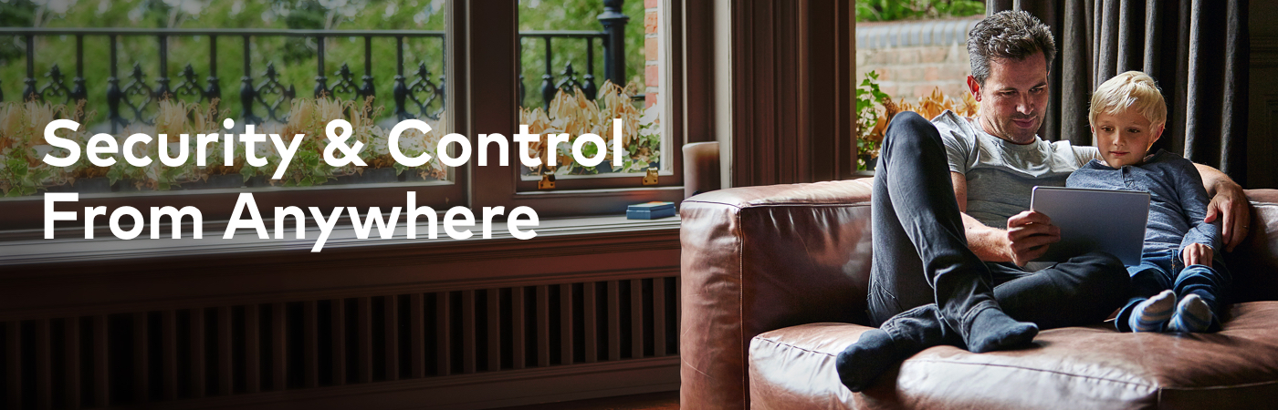 Security and Control From Anywhere